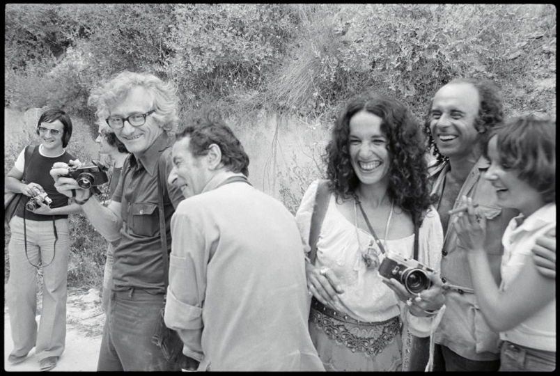 Marc Riboud, Jack Garofalo, Mary Ellen Mark, and Ralph Gibson © René Burri, collection René Burri