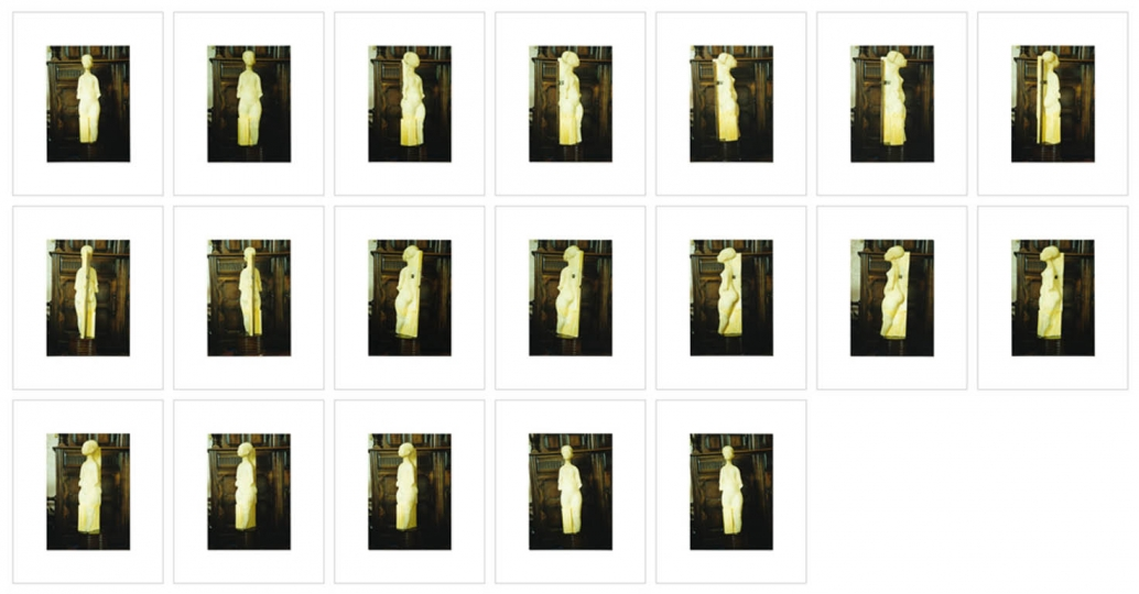 19 Valuation Shots in the Greenhalghu2019s Living Room (attributed to Sean Greenhalgh) rnArchival Inkjet Prints 9u201dx11