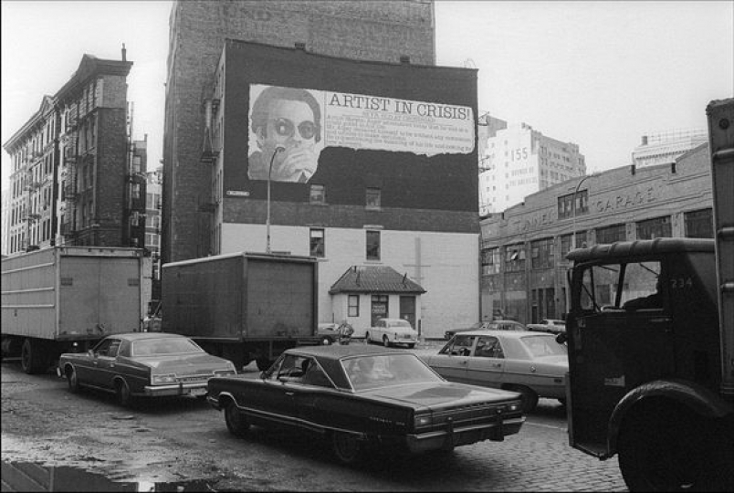 Allan tannenbaum new york in the 70s the eye of for Mural on broome street