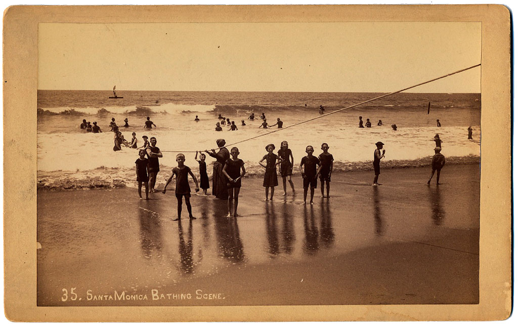 Santa Monica Bathing Scene - Anonyme