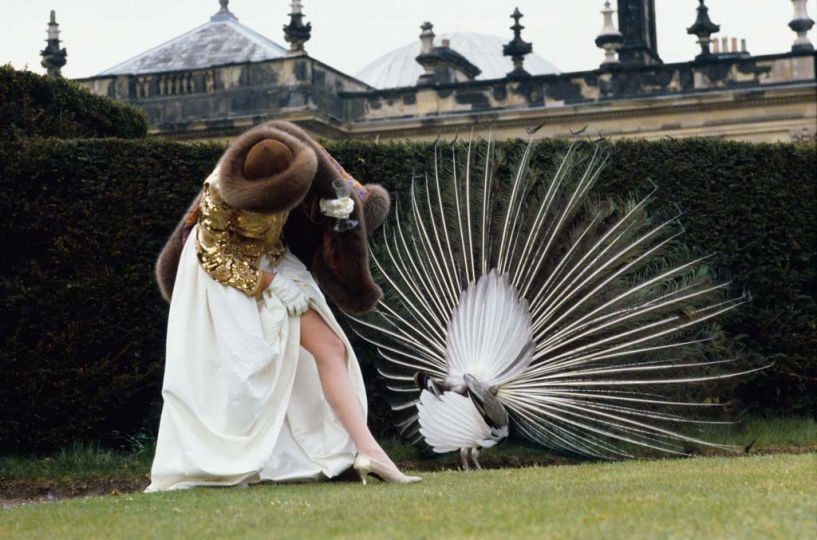 Joan Severance, Castle Howard, 1082 © Denis Piel