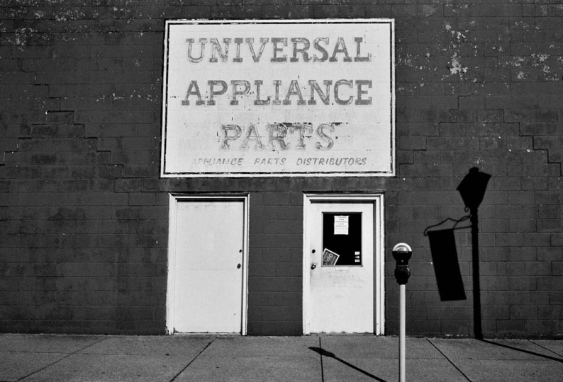 Universal Appliance Parts ©Susan May Tell