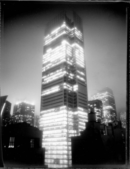 # 13  New York Times building (construction), October 2007 ©Michel Delsol