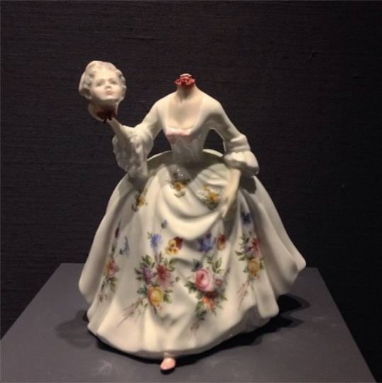 10 - Andrea by Jessica Harrison (headless) in the Body & Soul: New International Ceramics at MAD  © Andi Potamkin