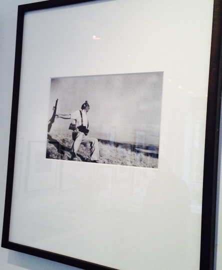 12. Robert Capa's 'Fallen Soldier' at 20 Years in Photography at Atlas Gallery