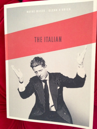 The Italian book cover