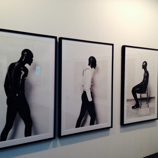 Photographs by Lakin Ogunbanwo at Rooke & van Wyk / Art 14