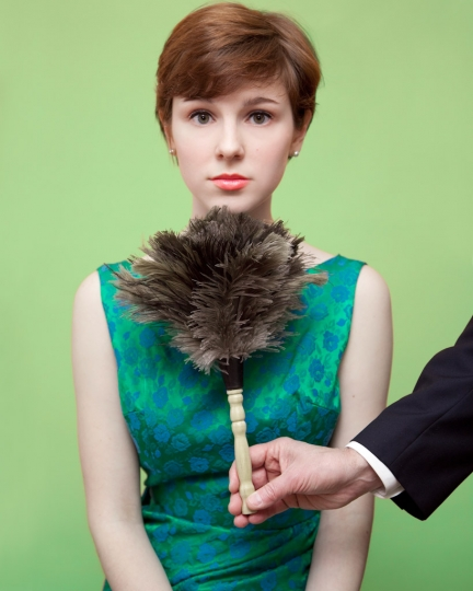 In Maine it's unlawful to tickle women under the chin with a feather duster © Olivia Locher / Redux