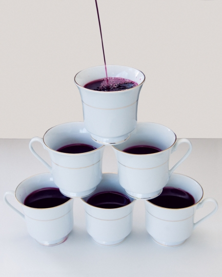 In Kansas it's illegal to serve wine in teacups © Olivia Locher / Redux