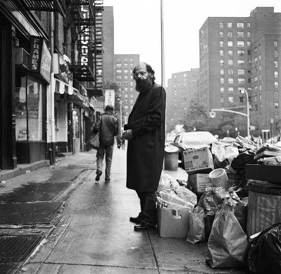 Allen Ginsberg, New York City 1974 ©u00a0Michael Tighe