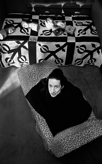 Diana Vreeland, New York City 1976 © Michael Tighe