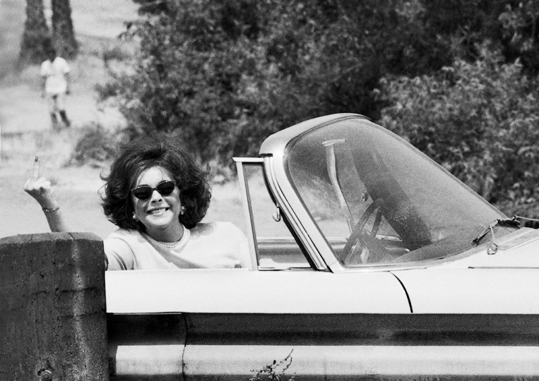 Elizabeth Taylor, Los Angeles 1989 © Michael Tighe