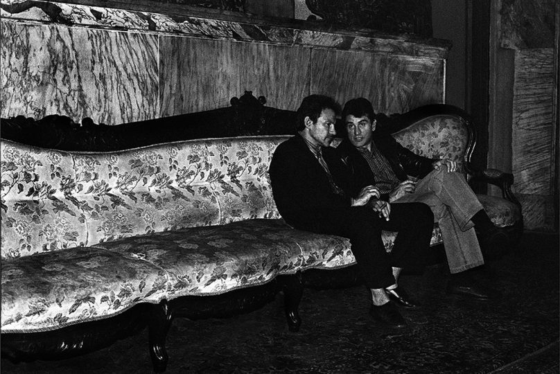Harvey Keitel & Robert De Niro, New York City 1983 © Michael Tighe