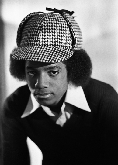 Michael Jackson, New York City 1977 © Michael Tighe