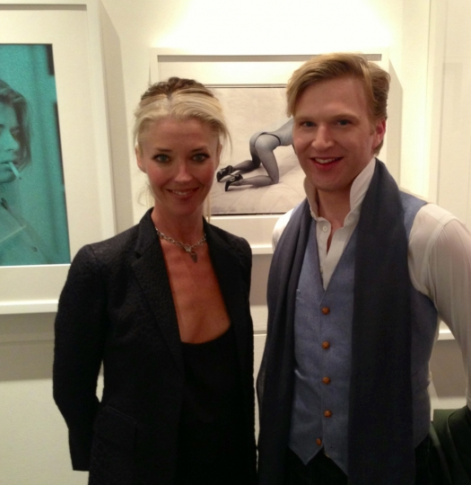 [Photo 11] Tamara & Henry Conway @ Bob Carlos Clarke Private View at The Little Black Gallery