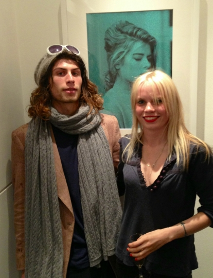 [Photo 12] Luciano Pierre White & Scarlett Carlos Clarke @ Bob Carlos Clarke Private View at The Little Black Gallery