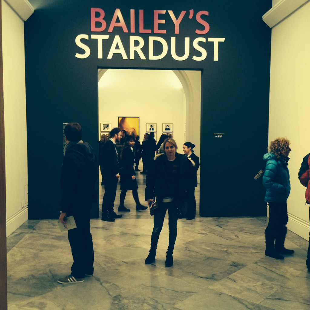 [Photo 1] Charlotte Chappell @ David Bailey's 'Stardust' at the National Portrait Gallery