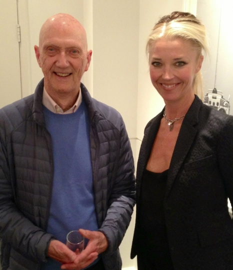 [Photo 7] Allen Jones & Tamara @ Bob Carlos Clarke Private View at The Little Black Gallery