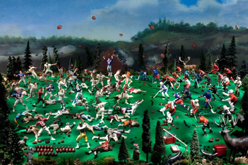 The Battle of Queenston Heights (War of 1812) ©  Diana Thorneycroft