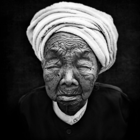 Portrait of a long life: Chine 2014, Menghai, province du Yunnan © André Alessio