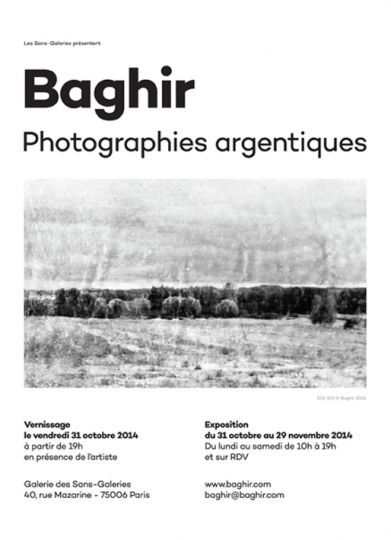 BAGHIR - Photographies argentiques