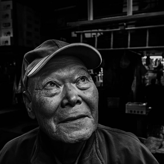 The Old Man of Tsukiji: Japon 2010, Tokyo © André Alessio