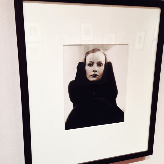 Greta Garbo by Edward Steichen @ The Photographers Gallery rn