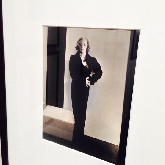 Joan Crawford by Edward Steichen @ The Photographers Gallery rn