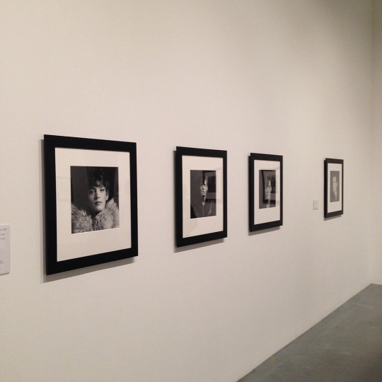 Robert Mapplethorpe self-portraits @ Tate Modern rn