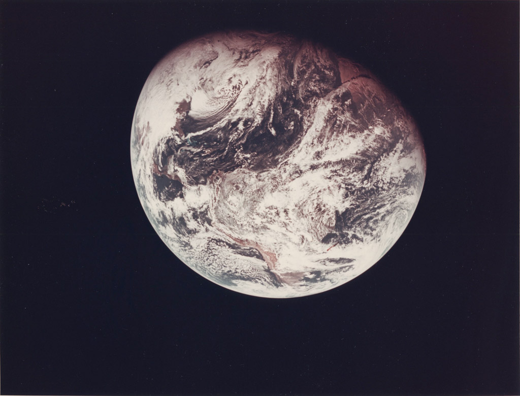 Photo Nasa Vue sur la Lune 02 Apollo 8