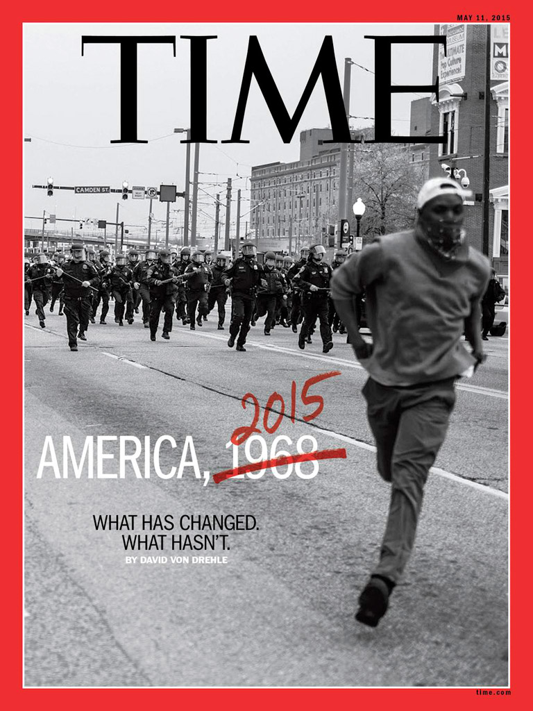 TIME Cover, May 2015 © Devin Allen