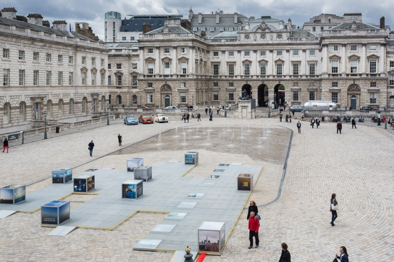 Somerset House, home of Photo London. Designed by Sir William Chambers, the neoclassical building has played host to the Royal Academy and the Royal Society of Antiquities, as well as, more recently the Courtauld Gallery, and many major one-off events. © Magnus Arrevad