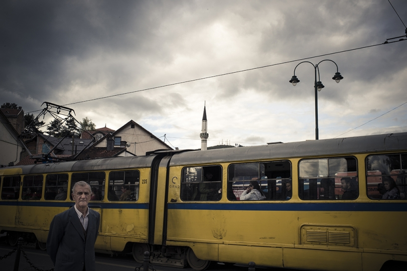 © Didier Bizet Bau0161u010daru0161ija, the most visited place in Sarajevo. May 2015. Bau0161u010daru0161ija, l'endroit le plus visité par les touristes. Sarajevo mai 2015.