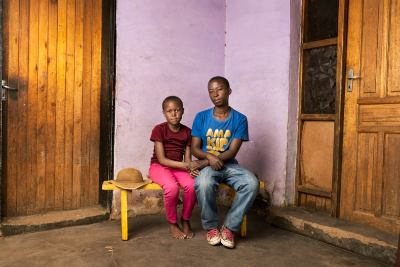 Naleli & Leseli Kompie - The Children of Maphatsoe Kompie, deceased are 15 & 19 years old respectively. Their father passed away from silicosis related TB in 2013. He received no compensation.