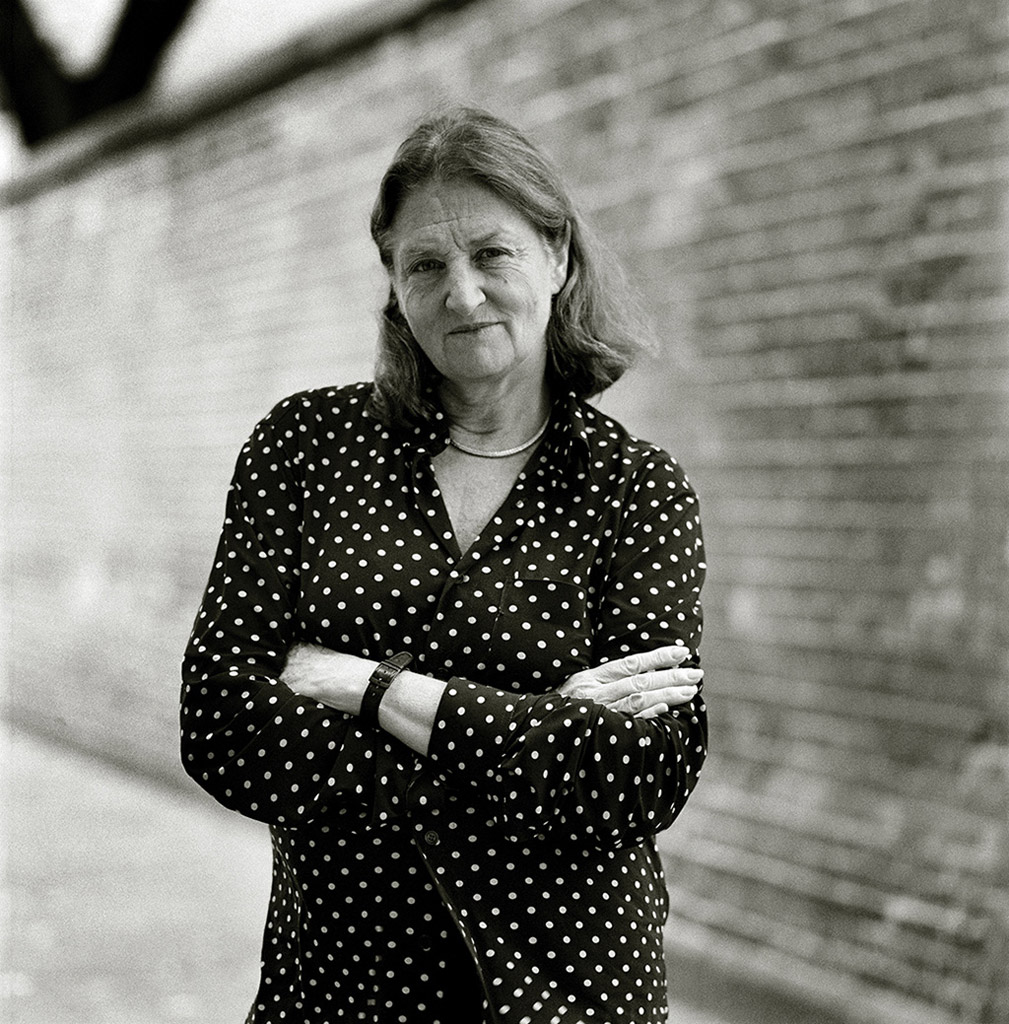 Portrait of Susan Meiselas, 2014 © Harvey Wang