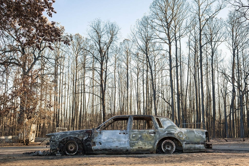 In September 2011, wildfires destroyed over 1,600 homes in East Bastrop, Texas as fire spread over 34,000 acres It was the state's most destructive wildfire coming during the state's worst drought since the 1950's.
