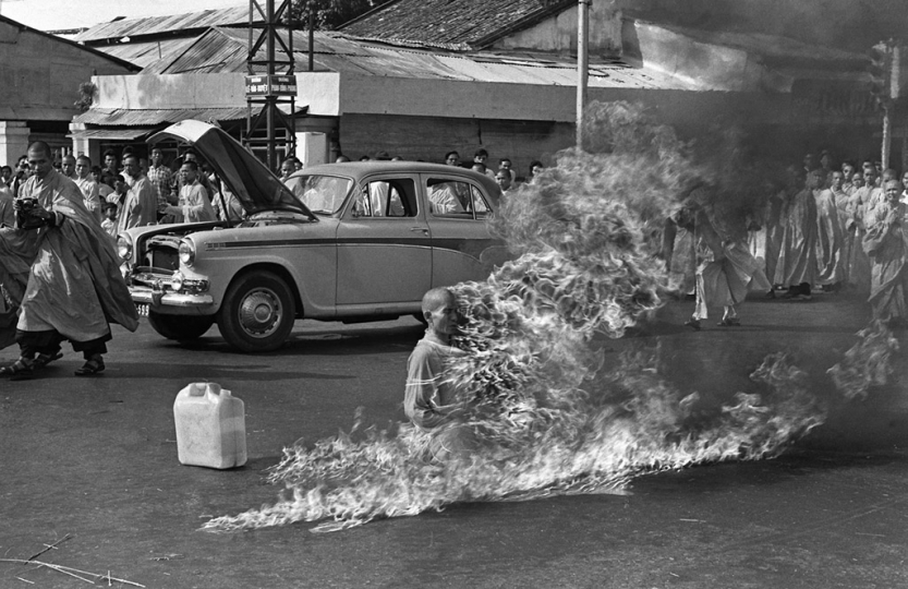 © Malcolm Browne Burning Monk