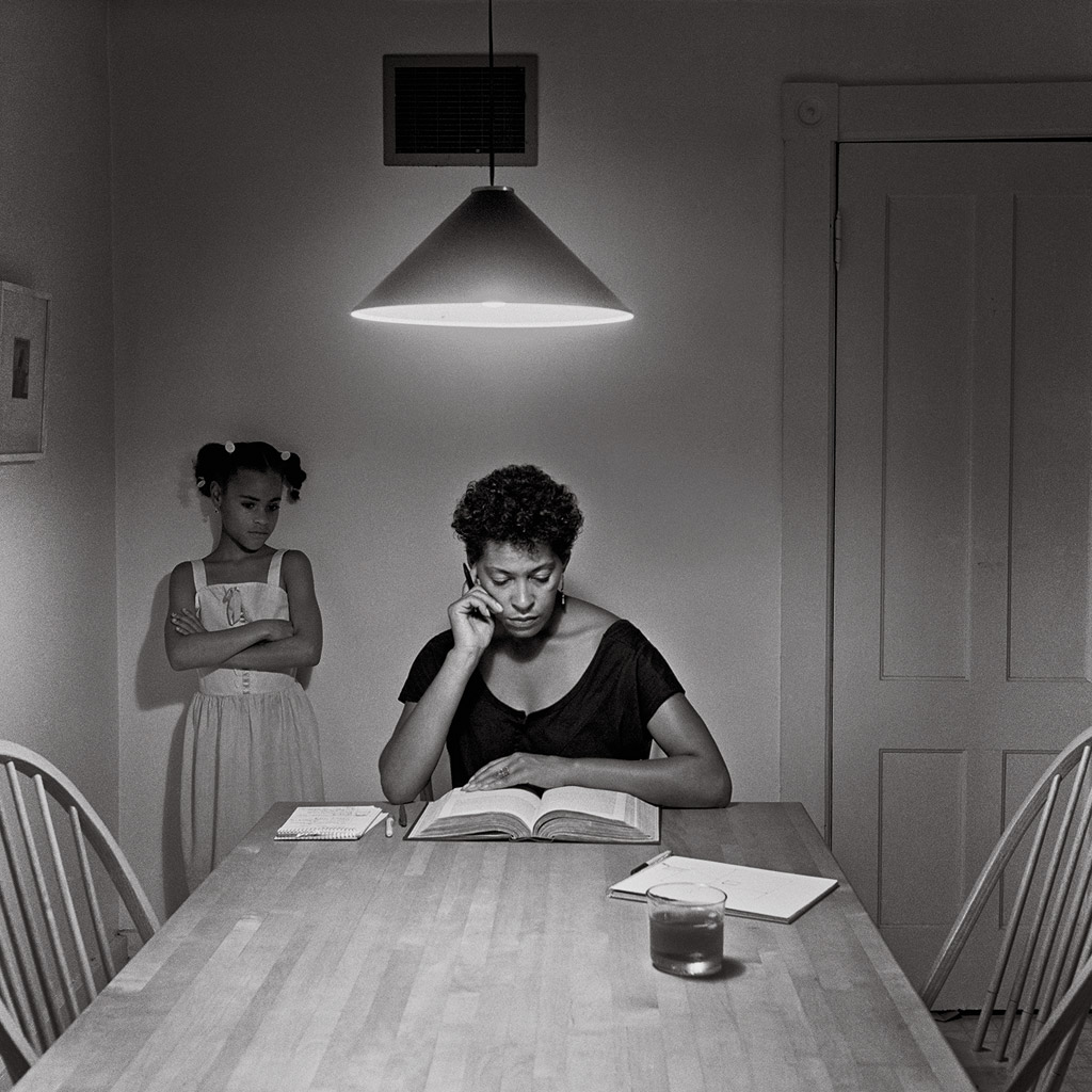 Carrie Mae Weems Kitchen Table Series Carrie mae weems kitchen table series the eye of photography carrie mae weems kitchen table series workwithnaturefo