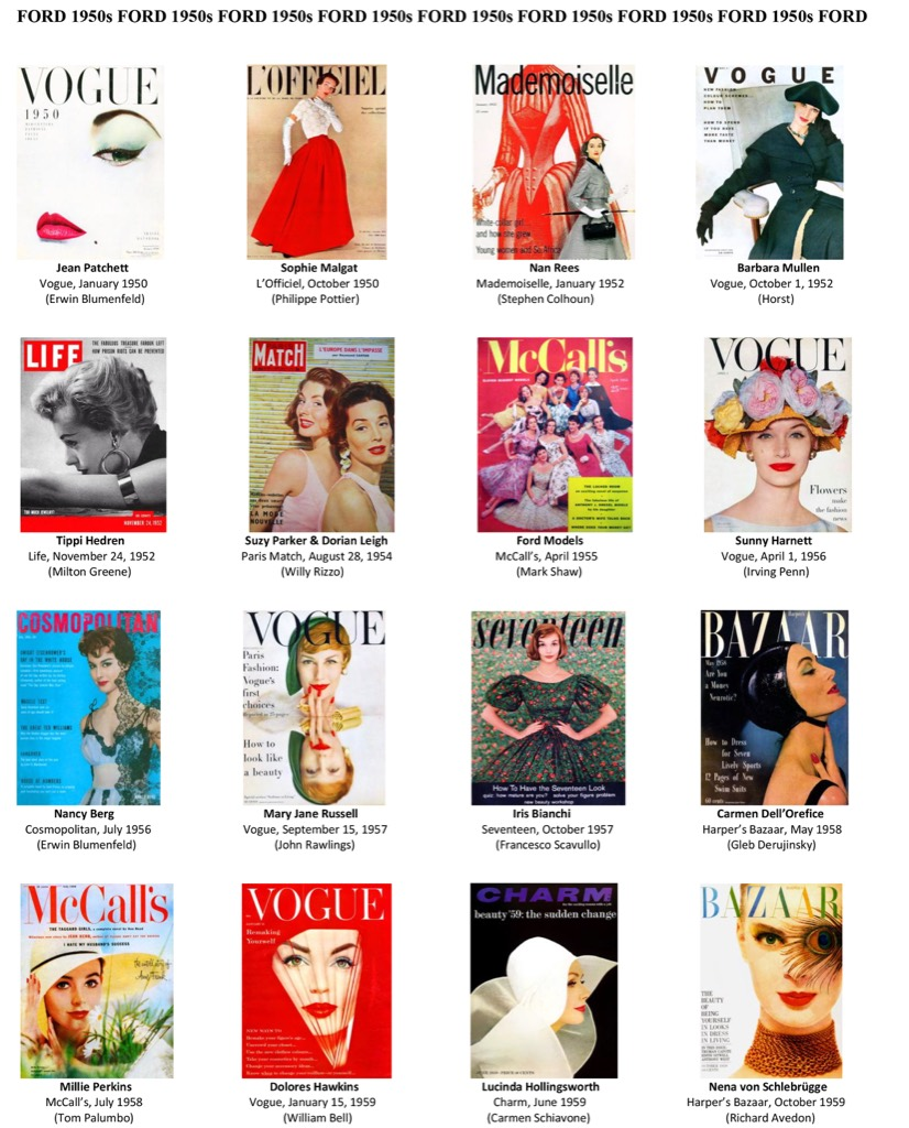 Model Woman, Ford Fashion Covers - The Eye of Photography Magazine