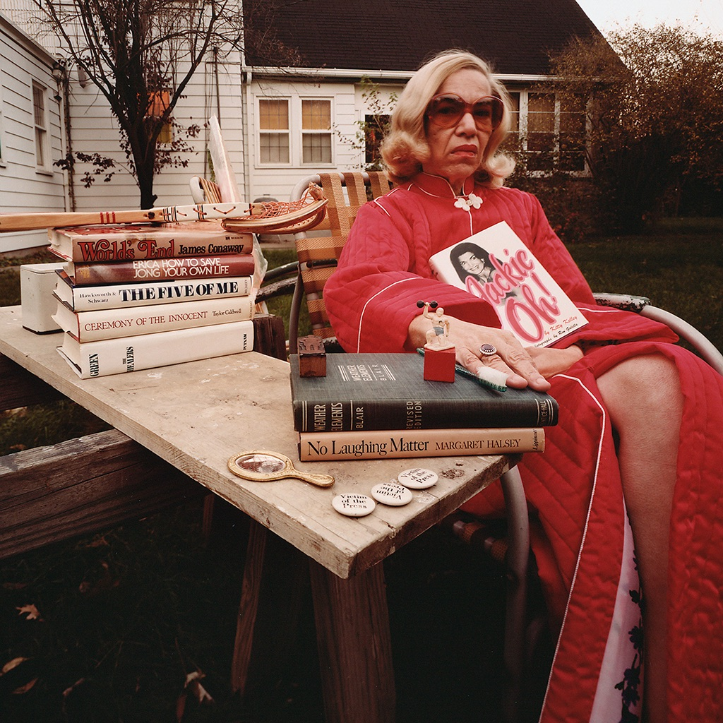 © James Friedman, Mom in red