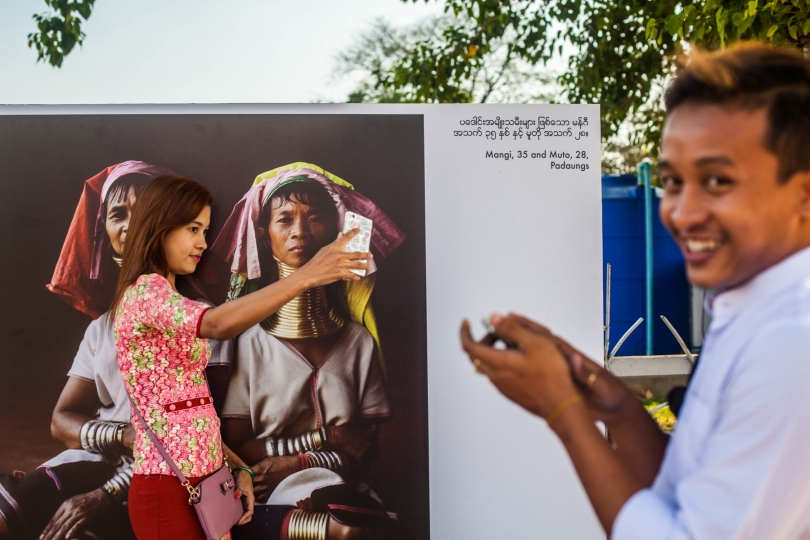 Yangon Photo Festival © Aline Deschamps