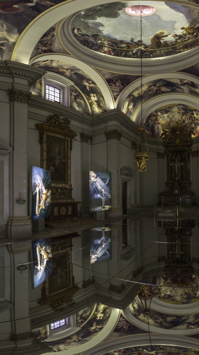 Madrid : Denise De La Rue, Angels and Witches - The Eye of
