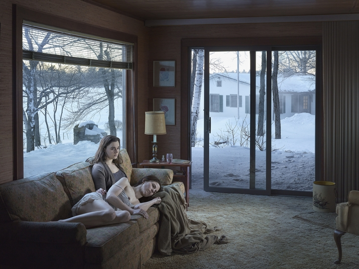 Mother and Daughter, 2014 © Gregory Crewdson