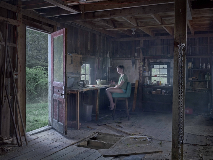 The Barn, 2013 © Gregory Crewdson. Courtesy Gagosian and Galerie Templon