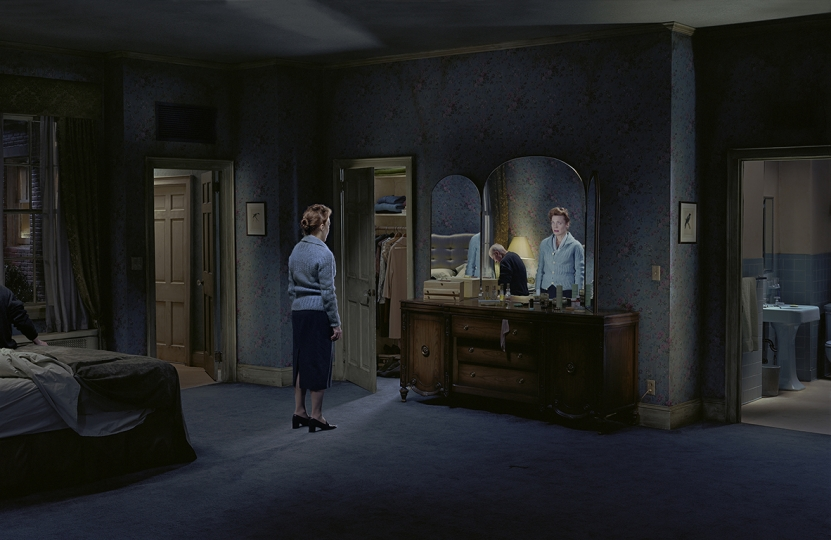 Blind reflection, 2013 © Gregory Crewdson. Courtesy Gagosian and Galerie Templon