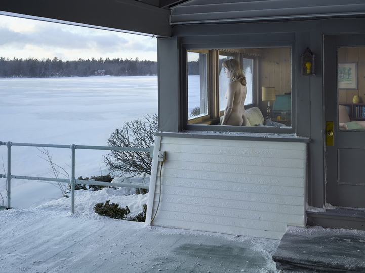 Woman at window, 2013 © Gregory Crewdson. Courtesy Gagosian and Galerie Templon