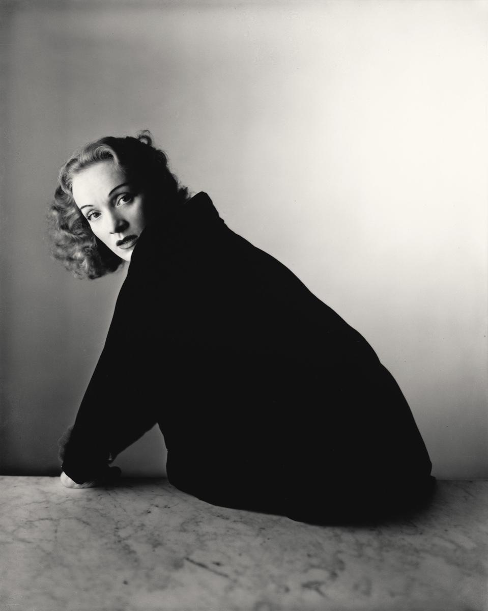 Best of May - Reflection on Irving Penn's photographs: Marlene Dietrich, New York, 1948