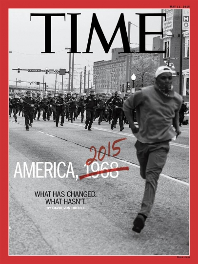 Time Cover, May 2015 © Devin Allen and Time