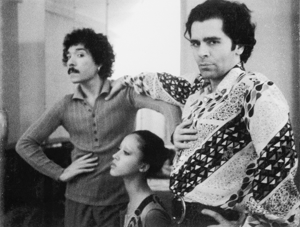 Antonio Lopez, Pat Cleveland and Karl Lagerfeld, Paris, 1970. Photograph by Juan Ramos. © Copyright The Estate of Antonio Lopez and Juan Ramos, 2012