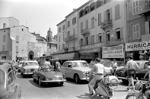The wonderful story of saint tropez by willy rizzo the for Porte 60 x 40